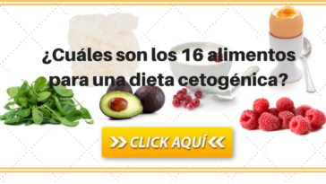 16 alimentos de una dieta cetogénica