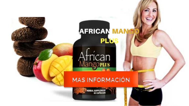 AFRICAN MANGO PLUS MAS INFORMACIÓN