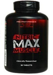 nitric max muscle precio