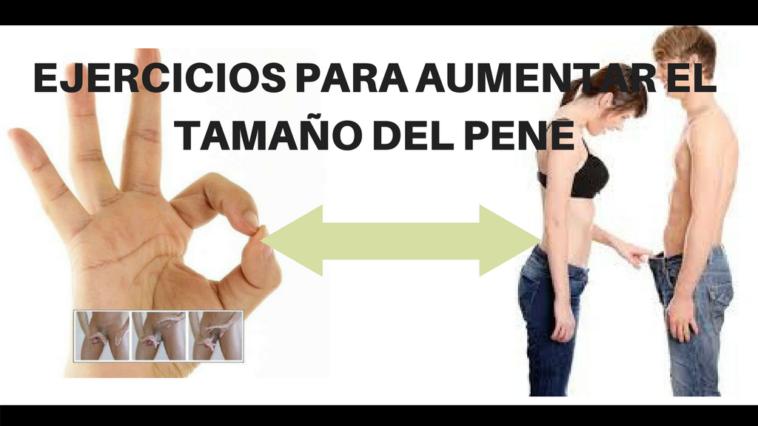 ejercicios para aumentar el tamaño del pene