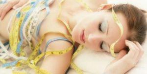 bajar de peso mientras duermes
