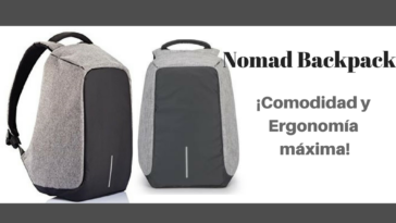 Nomad Backpack - Más Info